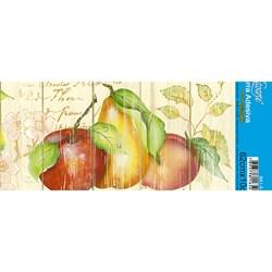 Barra Adesiva Litoarte Lili Negrão BA1-X-006 Frutas