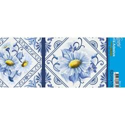 Barra Adesiva Litoarte Lili Negrão BA1-X-007 Azulejo