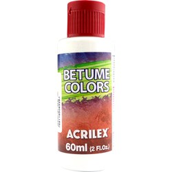 Betume Colors Acrilex 60mL - 519 Branco