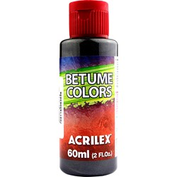Betume Colors Acrilex 60mL - 530 Grafite