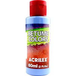 Betume Colors Acrilex 60mL - 560 Azul Caribe