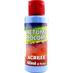 Betume Colors Acrilex 60mL - 560 Azul Caribe