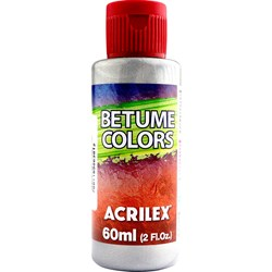 Betume Colors Acrilex 60mL - 599 Aluminio