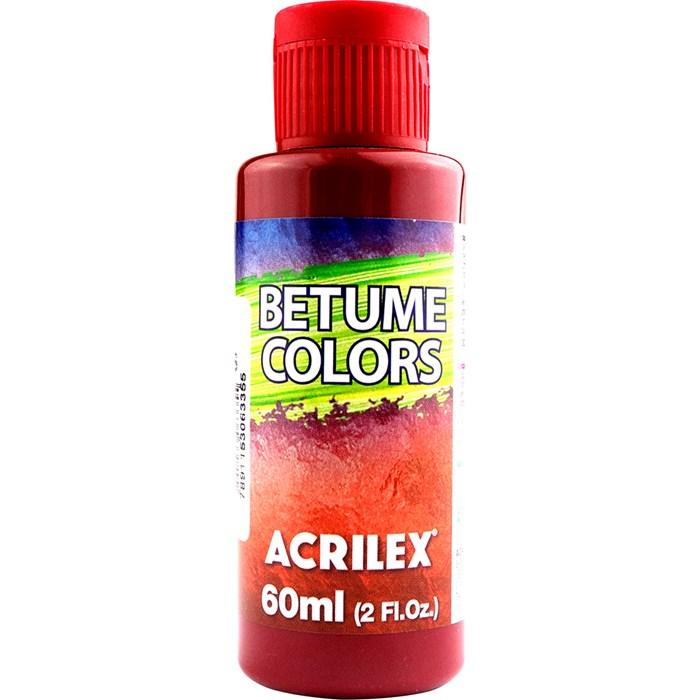 Betume Colors Acrilex 60mL - 826 Cereja
