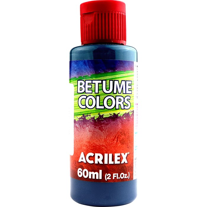 Betume Colors Acrilex 60mL - 947 Azul Zinabre