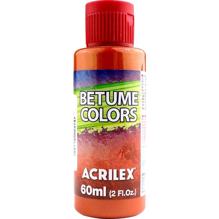 Betume Colors Acrilex 60mL - 950 Ferrugem