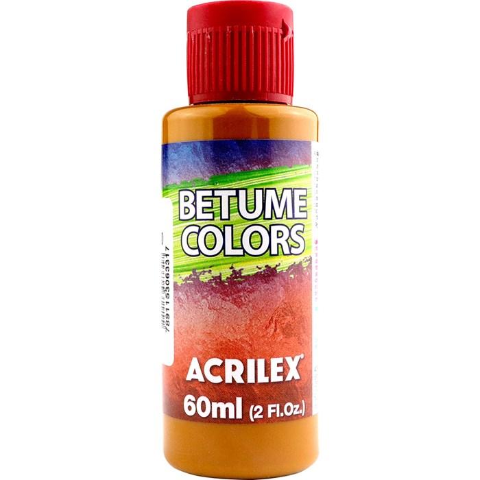 Betume Colors Acrilex 60mL - 960 Amarelo Indiano