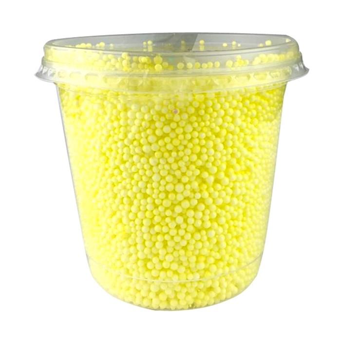 Bola de Isopor Micro 750mL Amarela