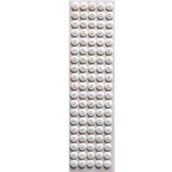 Botão Adesivo 12mm BA12 Branca