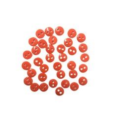 Botões para Patch 09 Laranja  - 36 Unidades