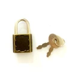 Cadeado Arabesco Ouro Velho A61/23 Ouro Velho - com 1 unidade