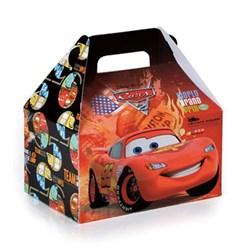 Caixa Maleta Kids - Carros 12x12x8cm - com 1 unidade