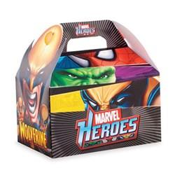 Caixa Maleta Kids - Heróis Marvel - 12x12x8cm - com 1 unidade