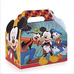 Caixa Maleta Kids - Mickey 12x12x8cm - com 1 unidade