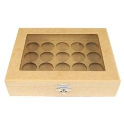 Caixa para Cápsula Nespresso 25x19x6cm MDF-56 - 20 cápsulas