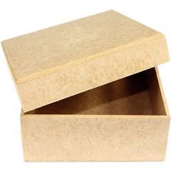 Caixa Quadrada 12x12x5cm MDF-79