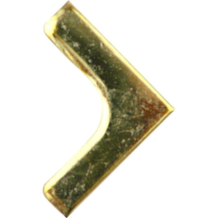 Canto G 036054-2 Ouro - com 4 unidades