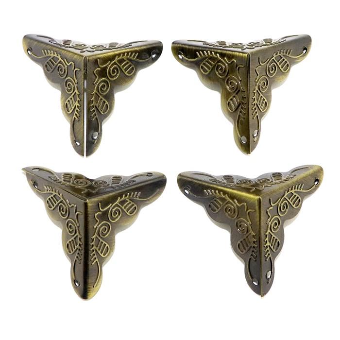 Cantoneira DV003-4 Egipcia Ouro Velho - com 4 unidades