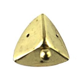 Cantoneira G com Pé 36051-2 Ouro - com 4 unidades