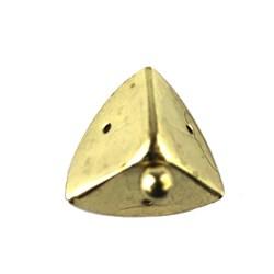 Cantoneira P com Pé 36045 Ouro - com 4 unidades
