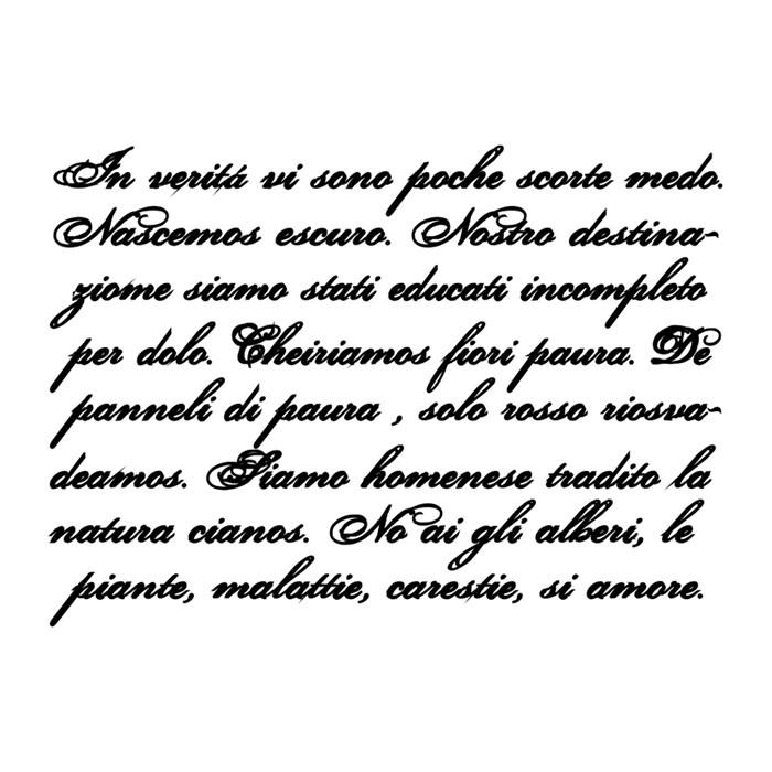 Carimbo Arte Fácil CA-156 Texto