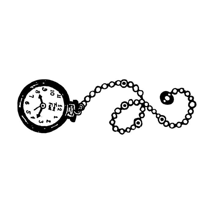 Carimbo Arte Fácil CA-282 Relógio de Bolso
