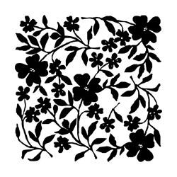 Carimbo Arte Fácil CA-325 Flores