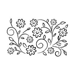 Carimbo Arte Fácil CA-398 Florzinhas