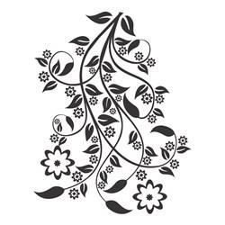 Carimbo Arte Fácil CA-411 Flores