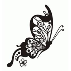 Carimbo Arte Fácil CA-566 Borboleta