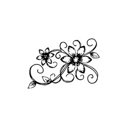 Carimbo Arte Fácil CA-695 Flor