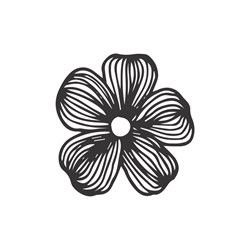Carimbo Arte Fácil CA-713 Flor