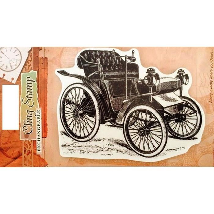 Carimbo - Cling Stamp CR-Classic-A5 Carro Antigo