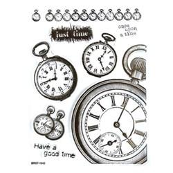 Carimbo de Silicone II 14876 (CAS136) Relógio de Bolso