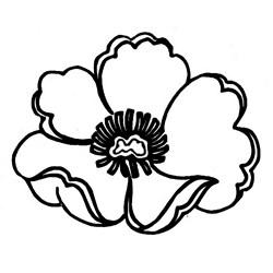 Carimbo Dona Arteira 091 Flor