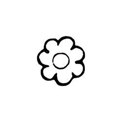 Carimbo Dona Arteira 1001 Mini Flor