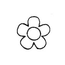 Carimbo Dona Arteira 1058 Mini Flor