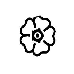 Carimbo Dona Arteira 1061 Mini Flor