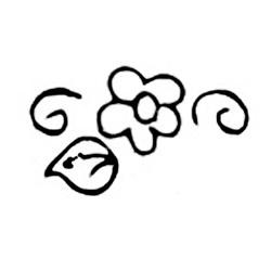 Carimbo Dona Arteira 1073 Mini Flores