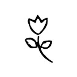 Carimbo Dona Arteira 1078 Mini Flor
