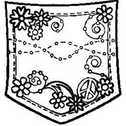 Carimbo Dona Arteira 1767 Bolso