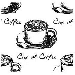 Carimbo Dona Arteira 1892 Cup of Coffee