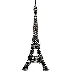 Carimbo Dona Arteira 2073 Torre Eiffel