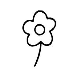 Carimbo Dona Arteira 213 Flor