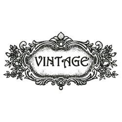 Carimbo Litoarte CLP-042 Vintage Flores