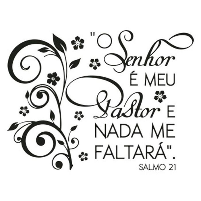 Carimbo Litoarte CLP-051 Salmo 21