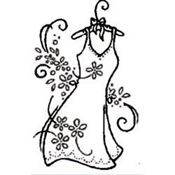 Carimbo Loucas por Caixas 95 Vestido