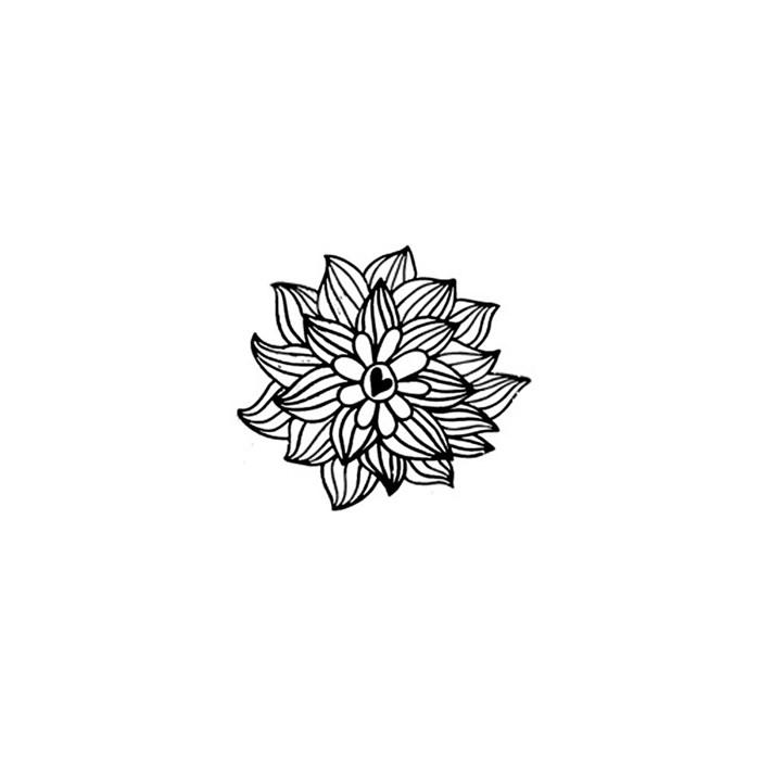 Carimbo Loucas por Caixas LC004 Folhas e Coração P
