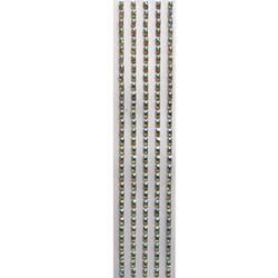 Chaton Adesivo Retângular 7mm CAR7 Cristal Irisado