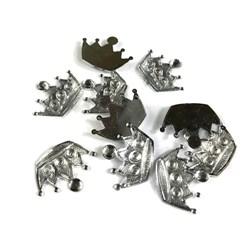 Chaton Coroa G 2,0x1,3cm CT57 Cristal - com 10 unidades